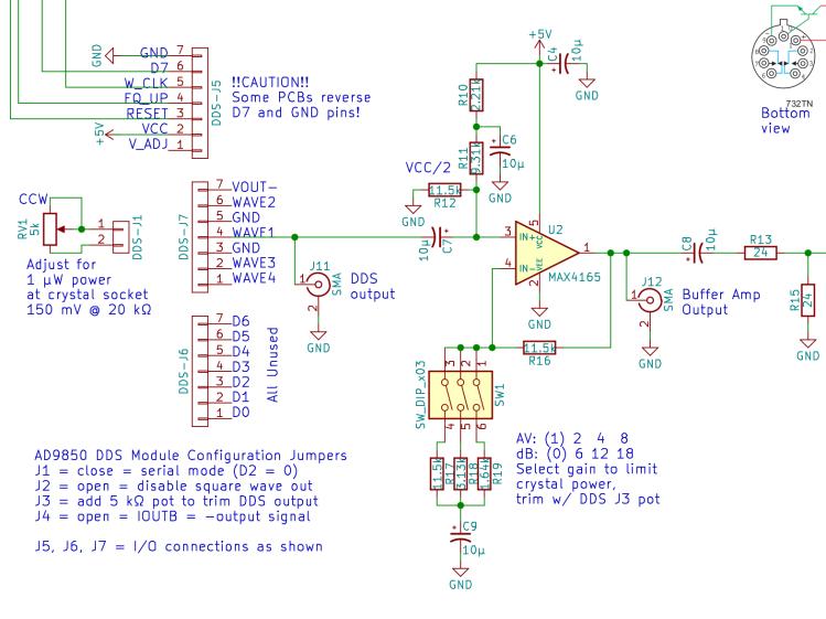 MAX4165 Buffer Amp