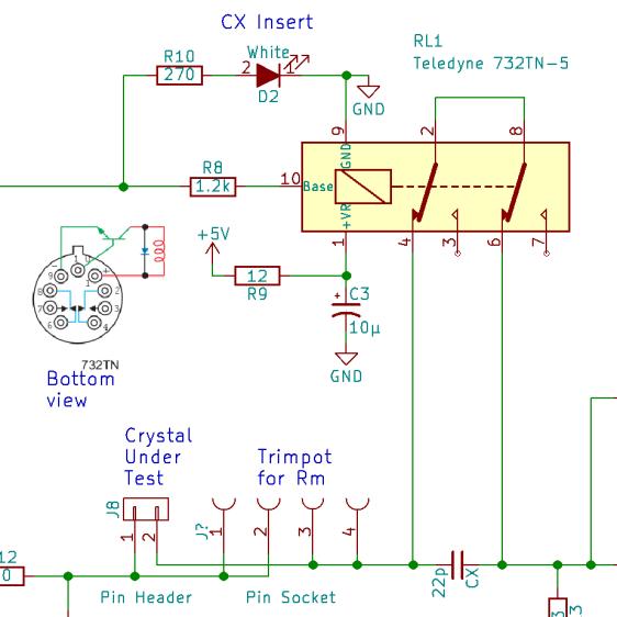Teledyne 732TN relay - drive schematic