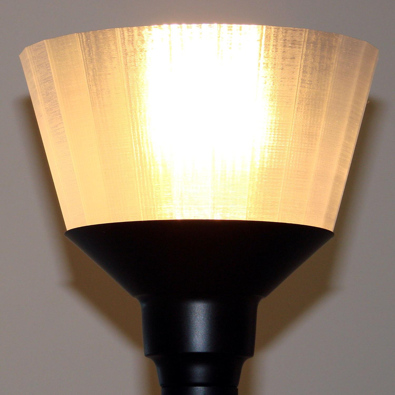 torchiere lamp shade no epoxy lit