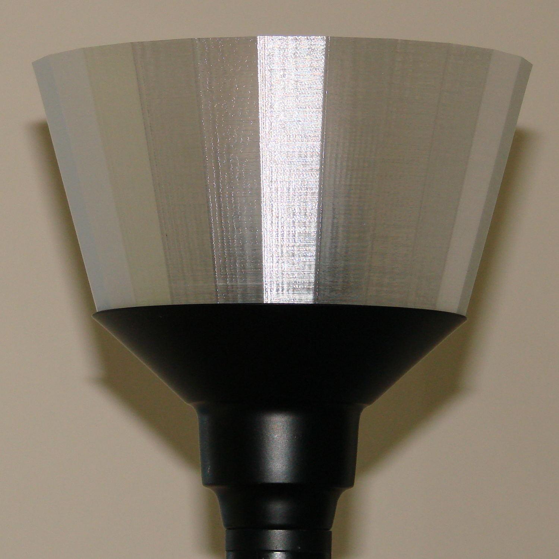 torchiere lamp shade no epoxy