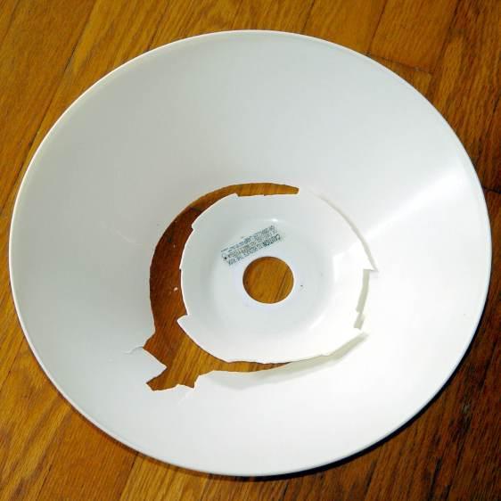 Torchiere Lamp Shade - original broken