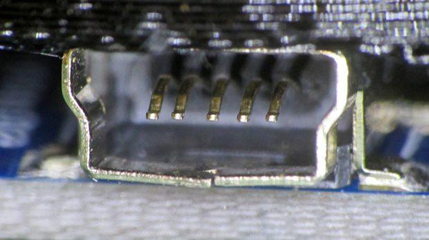 Knockoff Arduino Nano - broken Mini-B connector