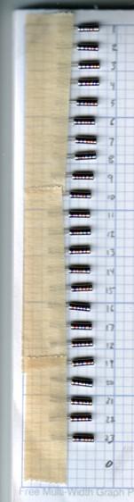 Quartz Resonators - binary marking