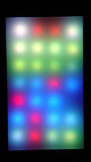 WS2812 LED test fixture - more failures