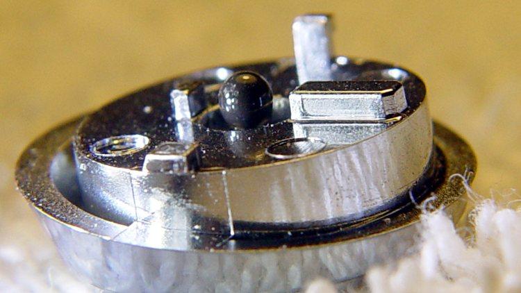 DSC-H5 Shutter Button - epoxy dot