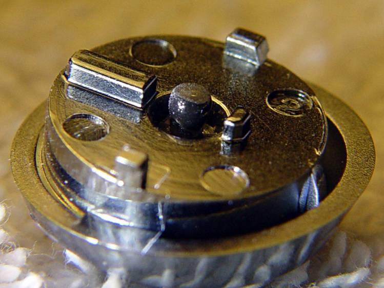 DSC-H5 Shutter Button - filed epoxy dot