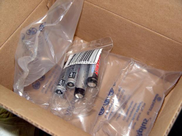 Amazon - Lithium Ion Battery - packaging