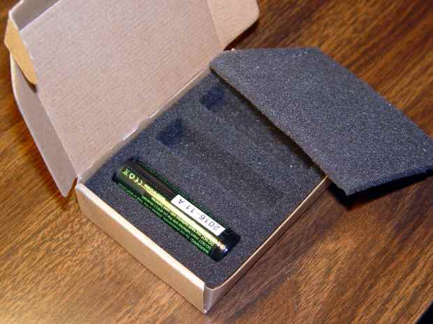ATK Lithium Ion Cell - padded box