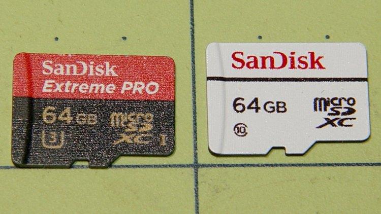 Sandisk - 64 GB MicroSDXC cards