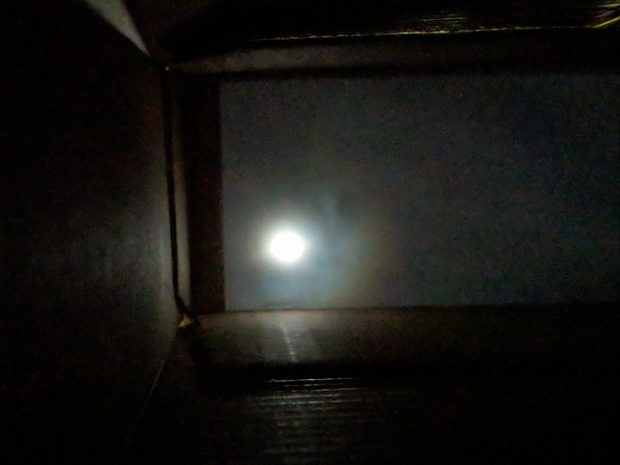 Eclipse 2017-08-21 - pinhole projector - interior