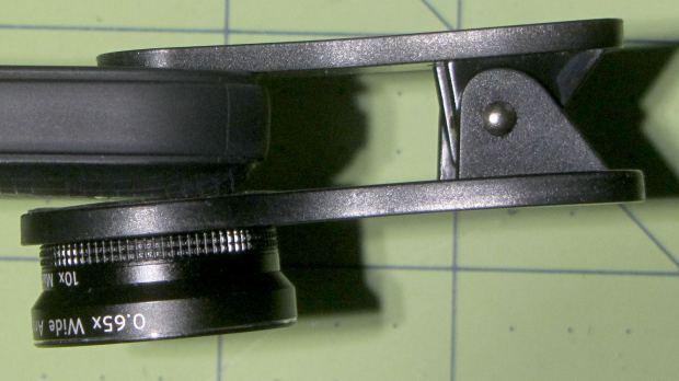 Pixel vs Lens Clamp vs Case - angle
