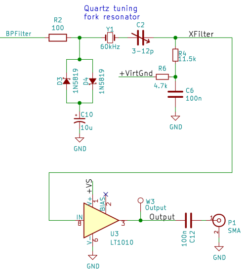 60 kHz Preamp Schematic - protected resonator - output rebias - 2017-09-22