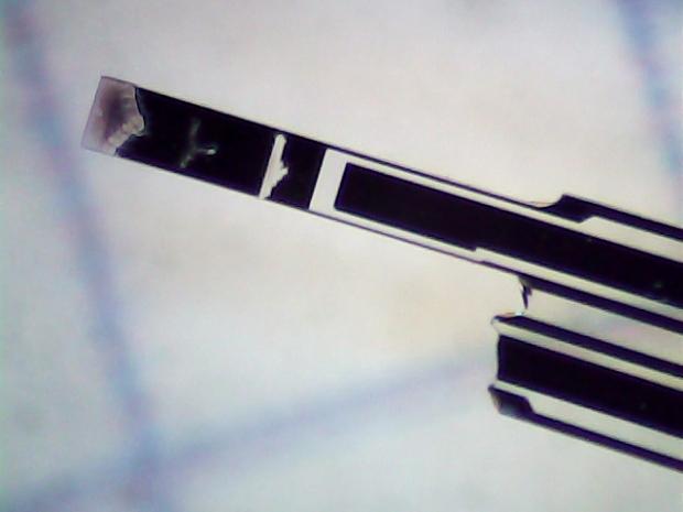 Broken 60 kHz Tuning Fork Resonator - overview