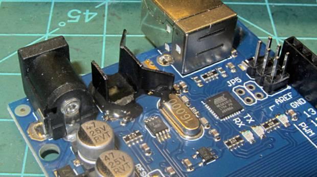 RAMPS Mega - regulator heatsink