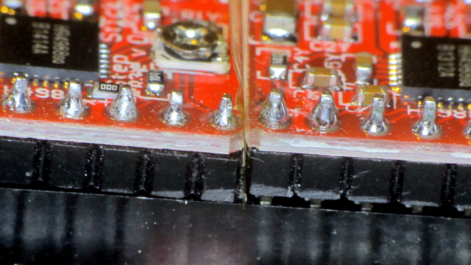 Ramps 14 Heatsinking The Smell Of Molten Projects In Morning Board Stepper Driver Fit