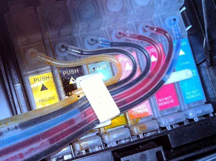 Epson R380 - broken CISS tube