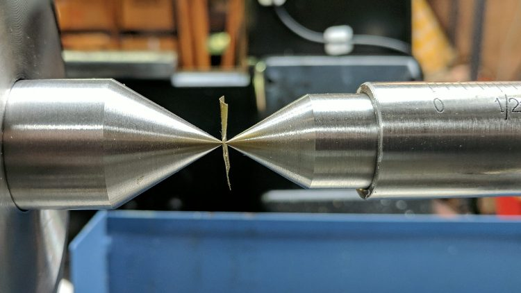 Tailstock - perfect point alignment