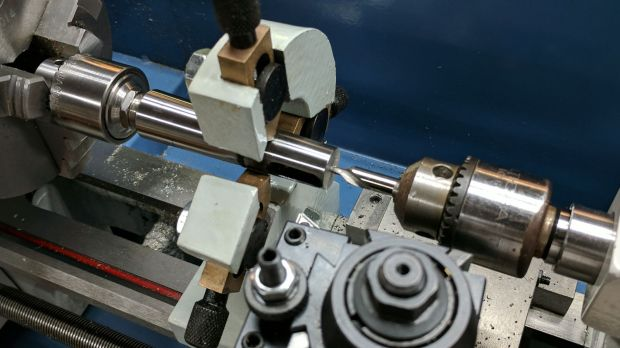 1MT to 2MT adapter - center drilling