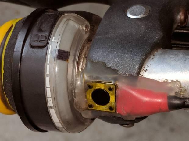 SRAM Shift Indicator - front assembled