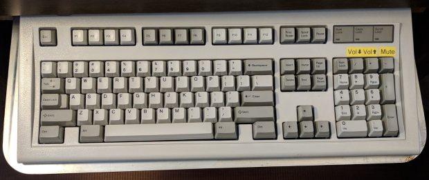 IBM Model M 1996 - media keys