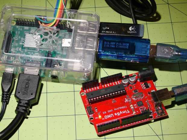 RPi vs Arduino - USB current