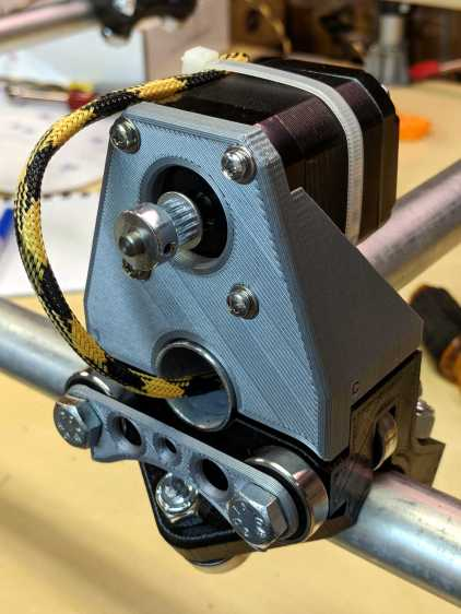 MPCNC - Stepper on Roller