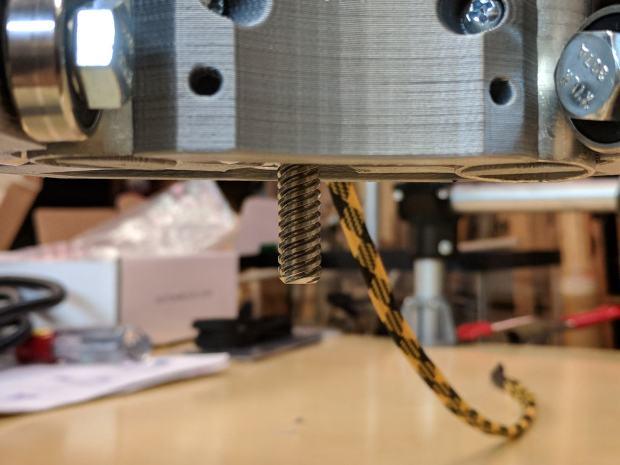 MPCNC - Z leadscrew - 12 inch rails