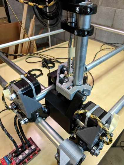 MPCNC - Stepper motor direction test
