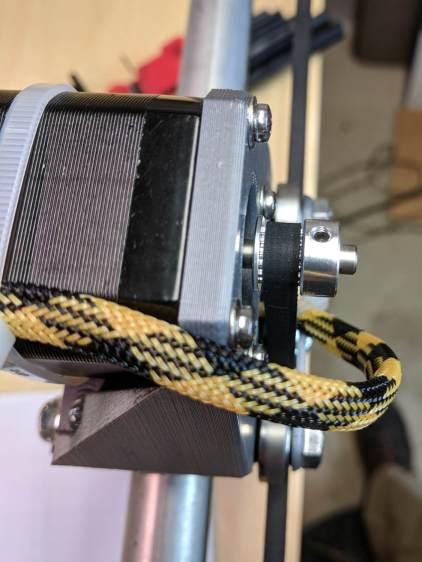 MPCNC - Stepper belt alignment