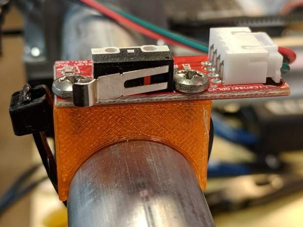 MPCNC - X min endstop - actuator view