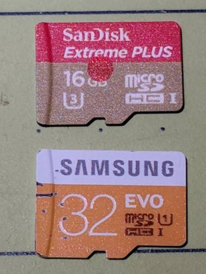 Sandisk Extreme Plus vs. Samsung EVO MicroSD cards