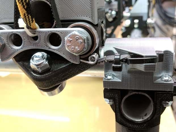 GT2 Belt Tensioner - installed