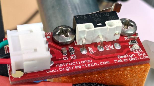 MPCNC - dual MG endstop hack