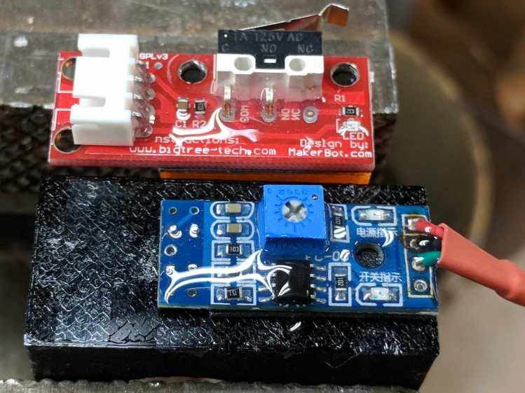 MPCNC - Epoxy-coated Endstop - Opto Prox Sensor