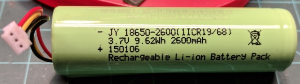 Fly6 - Battery - label
