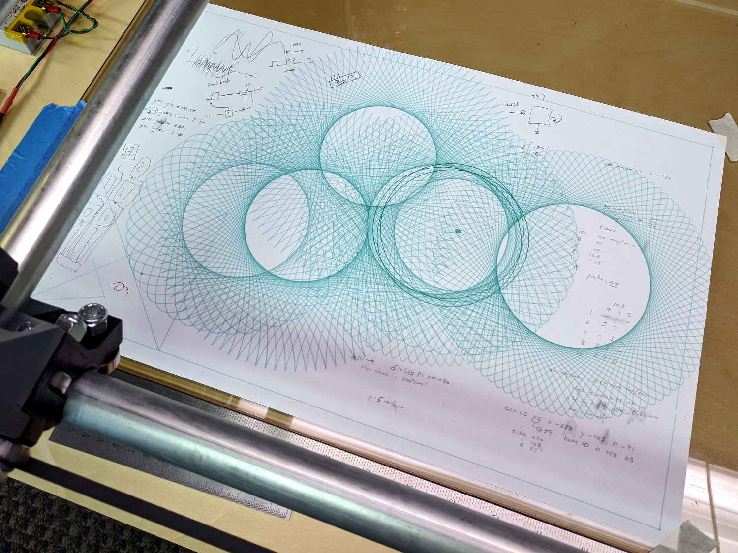 MPCNC: Spirograph Exerciser | The Smell of Molten Projects