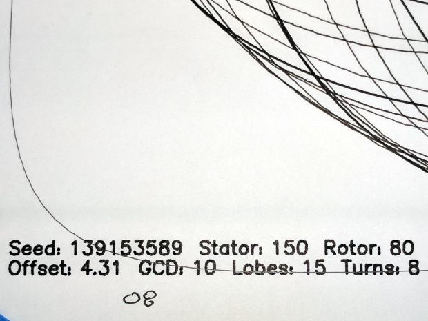 MPCNC - Sakura Micron 08 Black - detail