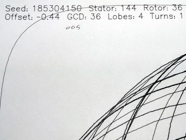 MPCNC - Sakura Micron 005 Black - detail