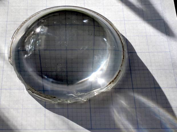 Headlight Condenser - sunlit