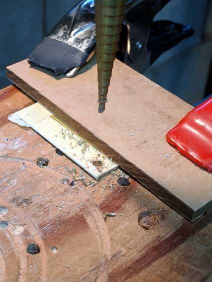 Drilling MPCNC Corner Post Shims