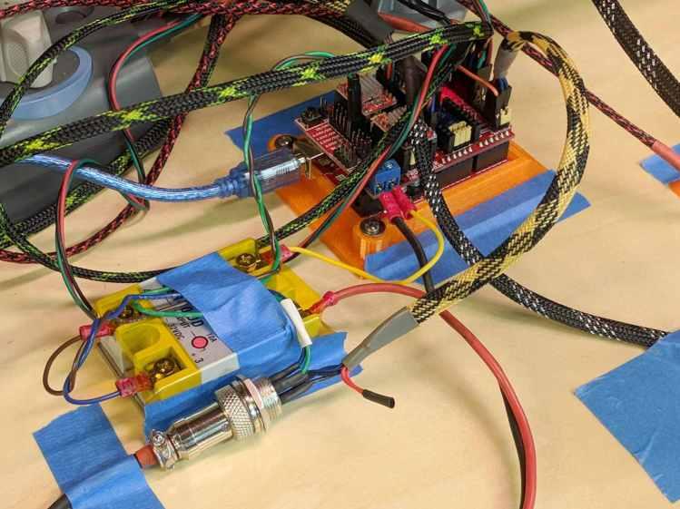 MPCNC - Protoneer Wiring - SSR