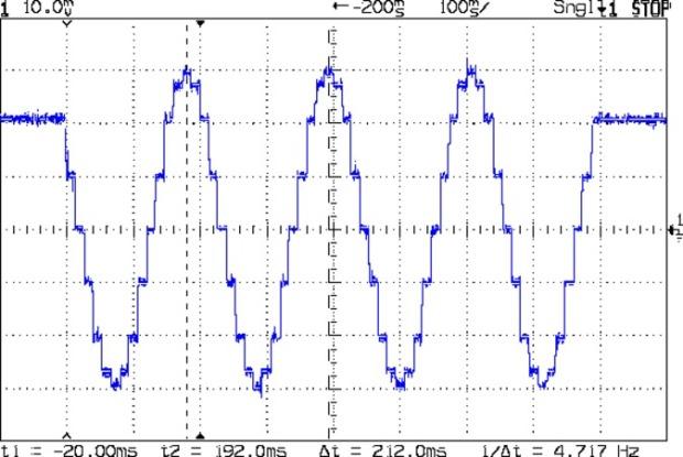 MPCNC g1x2.4f180 - 4 ustep - 200 mA-div