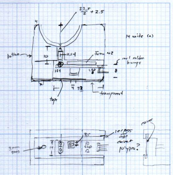 MPCNC Z Opto Proximity Sensor Endstop - doodles