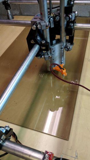 MPCNC - Z-probing glass plate