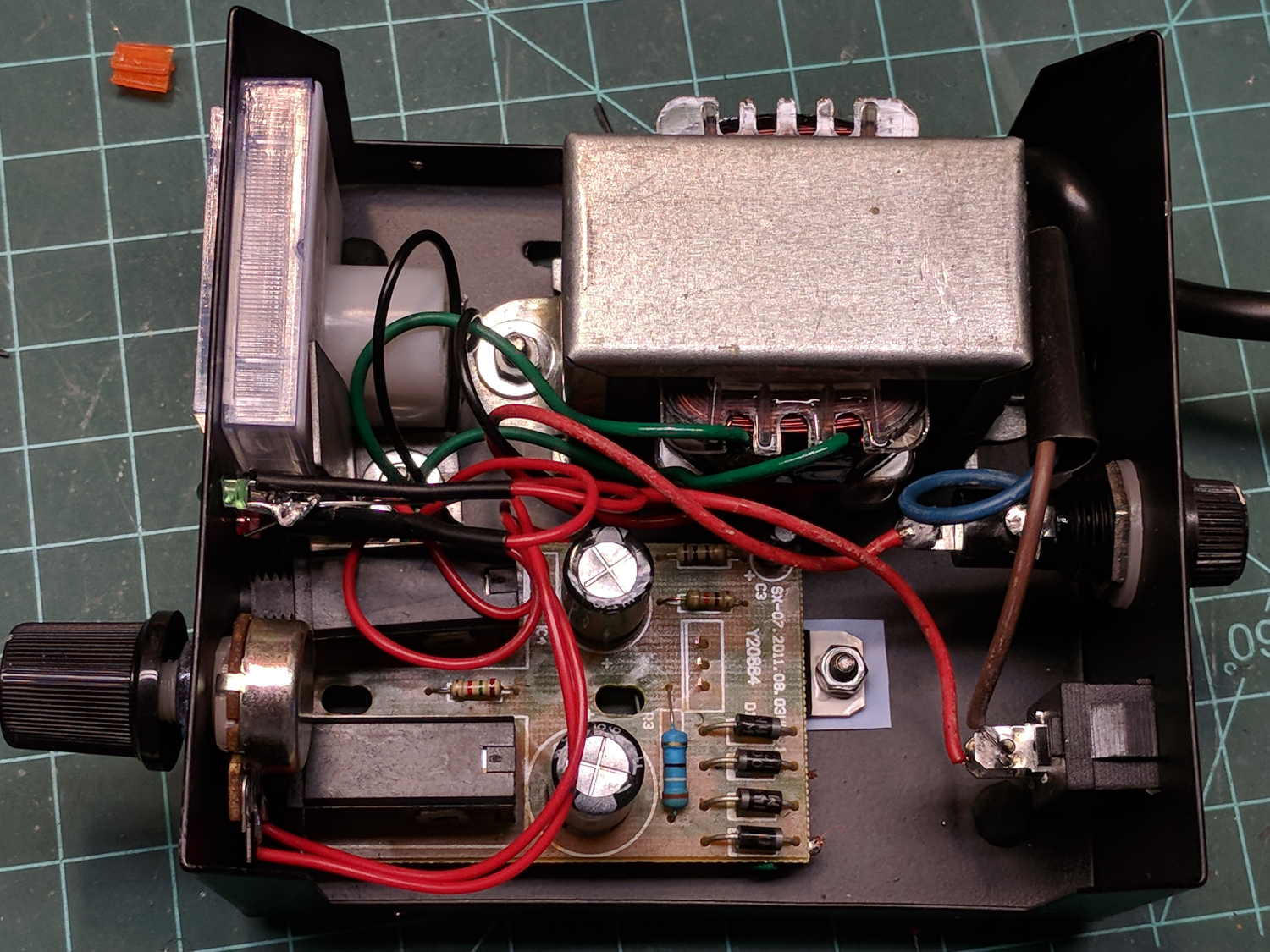 Digital Power Supply Wiring Diagram Governor Online For Compaq Along With Circuit Data Color Code