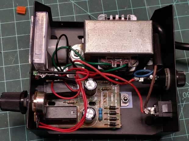 Tattoo power supply - original AC wiring