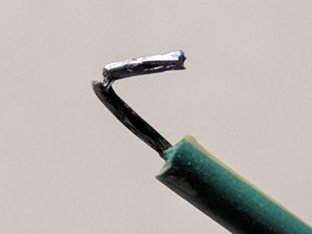 Tattoo power supply - soldered broken AC wire