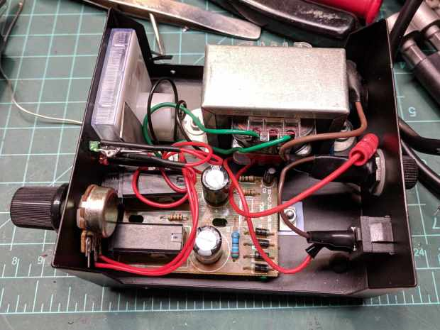 Tattoo power supply - AC line rewiring