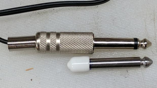Tattoo power supply - dummy switch plug