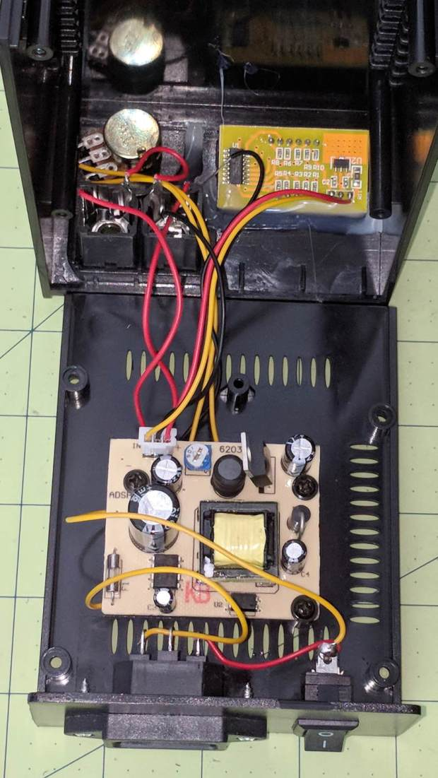 Tattoo Digital Power Supply - internal view